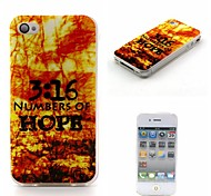 Hope Painting Soft TPU Case for iPhone 4/4S
