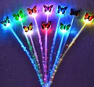 Colorful Flash LED Hair Braid Clip Hairpin  Decor For Party