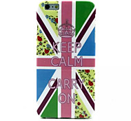 Union Jack Pattern TPU Soft Case for iPhone 6S Plus/6 Plus