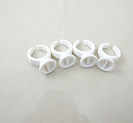 100шт / много малых чернил чашки кольцо татуаж бровей губ кольца пластиковый держатель чашки чернил двойной чашки