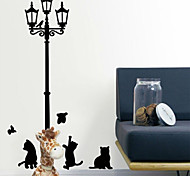 Mini Cartoon Black Cats PVC Wall Sticker Wall Decals