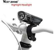 LED Flashlights/Torch / Bike Lights / Front Bike Light / Safety Lights LED - Cycling Adjustable Focus 18650 160 Lumens Battery