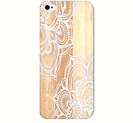 White Porcelain Pattern Phone Case Back Cover Case for iPhone5C