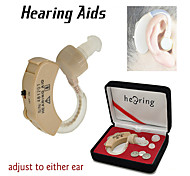 New Wireless Hearing Aid Aids Behind Ear Acousticon Voice Sound Amplifier Adjustable Tone