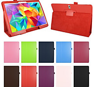 "pu lederen case cover stand tablet voor samsung galaxy tab s 10.5 ""t800 / tab s 8.4"" T700"