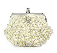 Handbag Imitation Pearl Evening Handbags/Clutches With Beading