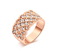 Z&X® Fashion Zircon Statement Rings Wedding/Party/Daily