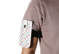 Universal Woodpecker PU Leather Hang Wist Band Wrist Strap for Mobile Phone under 5.2 inch