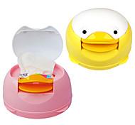 Automati Cute Duckc Tissue Box Manual Napkin Paper Dispenser (Random Color)