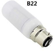 b22 / e27 / g9 6w 36x5730 SMD 400 ~ 450lm luz blanca cálida llevado cubierta helada bulbo del maíz ac 220v ~ 240v
