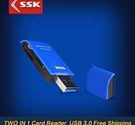 SSK® SCRM331 USB 3.0 All In 1 Card Reader High Quality Super Speed Transfer