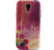 modello palloncino materiale TPU soft phone per mini i9190 Samsung Galaxy S4