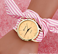 Bohemian Style Women'S Fishtion Watches Stripe Bow Shape Students Watch