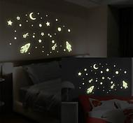 Vast Universe PVC Luminous Wall Sticker Wall Decals