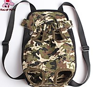 FUN OF PETS®Pet Travel Bag Cat Carrier Bag for Small Dogs Pet Five Holes Backpack Front Chest Backpack (Assorted Sizes)