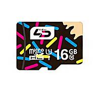 cartão micro SD cartão de memória de 16GB class10