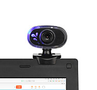 2015 New 360 Degrees Rotary 12M USB 2.0 HD Webcam Camera Web Cam with Built-in MIC Mini Clip for PC Laptop