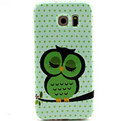 For Samsung Galaxy Case Pattern Case Back Cover Case Cat TPU Samsung S6 edge / S6