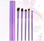 5 Set di pennelli Pennello di nylon Viso / Labbro / Occhi Altro