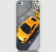 The Yellow Car Pattern Phone Case Back Cover Case for iPhone5C