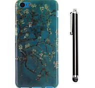 le modèle des peintures TPU arrière souple et un stylo stylet tactile pour iphone 5c