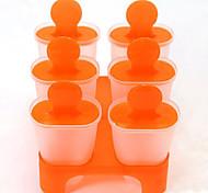 DIY projetado moldes gelo pop aparece set fabricante de 6