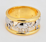 Size 6/7/8/9/10 High Quality Men White  Sapphire Rings 10KT Yellow Gold Filled Ring