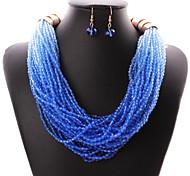 Colliers décoratifs / Boucles d'oreille ( Alliage ) Mariage / Soirée / Quotidien / Casual