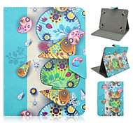 Conch and Shells Pattern High Quality PU Leather with Stand Case for 7 Inch and 8 Inch Universal Tablet