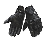 2015 New Black Leather Motorcycle Gloves XS S M L XL XXL