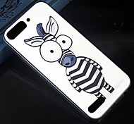 Cartoon zebra Pattern Design Pattern Back Cover Protective Hard Case for Huawei Ascend G6