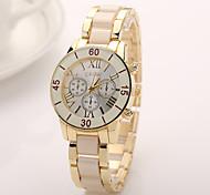 New  Luxury design geneva watch elegant hot sale stainless steel strap watch double row rhinestone watches women watch