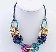 Cusa Solid Color Necklace