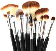 profissionais 15pcs maquiagem escovas definir ferramentas de maquiagem de alta qualidade kit
