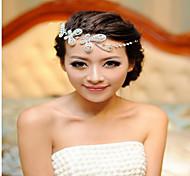 Bride Jewelry Wholesale Dumping  World Frontlet Butterfly Fluttering Butterfly Korean  Wedding Headdress Jewelry