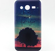 Trees Pattern TPU Material Soft Phone Case for Samsung G355H G530 G357F G360 G386F G850F G3500