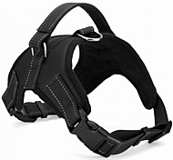 Black Large Pet Samoyed Chest Straps Big Dog Chest Harness