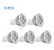 5pcs MORSEN® GU10 3W 200-250LM Support Dimmable Light LED Spot Bulb
