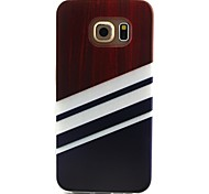 Stripe Pattern TPU Material Phone Case for Samsung Galaxy S3 S4 S5 S6 S3Mini S4Mini S5Mini S6 edge