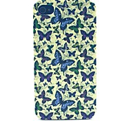 Butterfly Pattern PC Material Phone Case for iPhone 4/4S