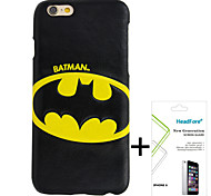 "Disney Batman Cover Case for Iphone6 4.7"" Free with Headfore Screen Protector for Iphone6 4.7"""