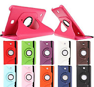 High Quality 360 Rotating Leather Stand Case Cover For Samsung Galaxy  Tab 3 Lite T110/Tab 3 7.0 T210/Tab 4 7.0 T230