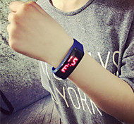 Men And Women LED Silicone Multi-Colored Sport Watches Wrist Watch Cool Watch Unique Watch