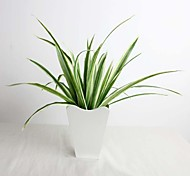 "13"" High Quality Artificial Plant Sized Bracketplant 1 Bunch"