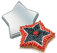 quatro c bandeja de bolo da forma da estrela de alumínio baking molde, bakeware metal, ferramentas de cozimento de bolos
