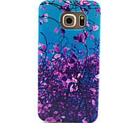 Для Кейс для  Samsung Galaxy Чехлы панели С узором Задняя крышка Кейс для Цветы TPU для SamsungS6 edge S6 S5 Mini S5 S4 Mini S4 S3 Mini