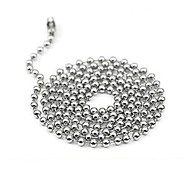 Korean Style Ball Shape Titanium Steel Hot Sales Necklace For Lover's(Silver)(1Pc)
