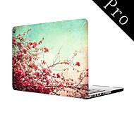 """patrón de flores funda protectora de cuerpo completo para el MacBook Pro de 13 """"/ 15"""" (no-retina)"""