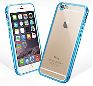 Metal frame acrylic back following support iPhone6