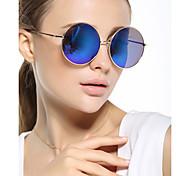 Sonnenbrillen mujeres's Klassisch / Elegant / Retro / Vintage / Modern / Modisch Rund  Silber / Gold Sonnenbrillen Vollrandfassung